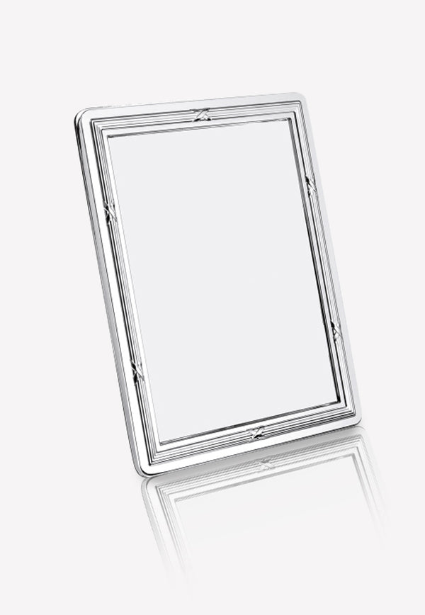 Rudewarm الفضة-Picated Picture Frame- 18 x 13 سم