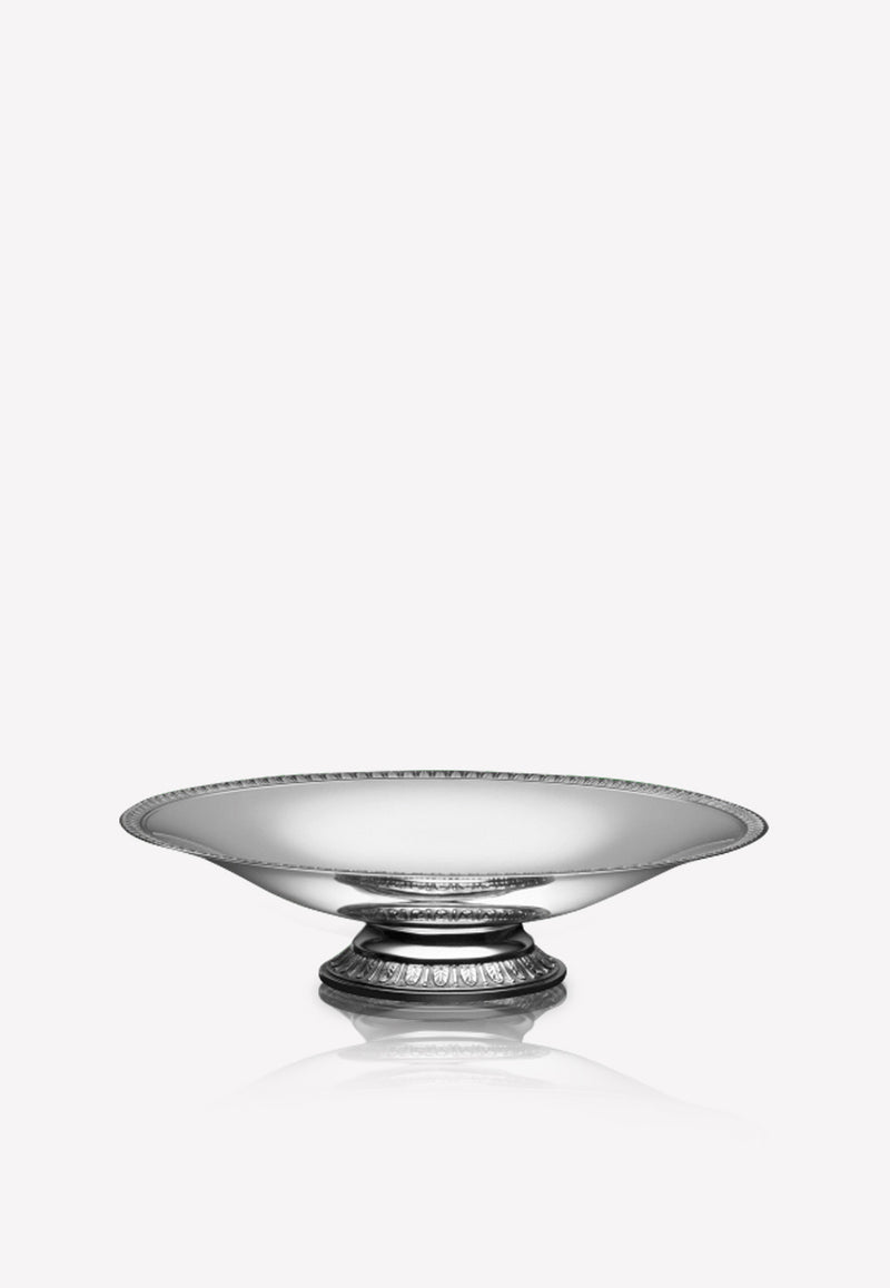Malmaison-Silver-Plated Fruit Bowl With Pedestal Base