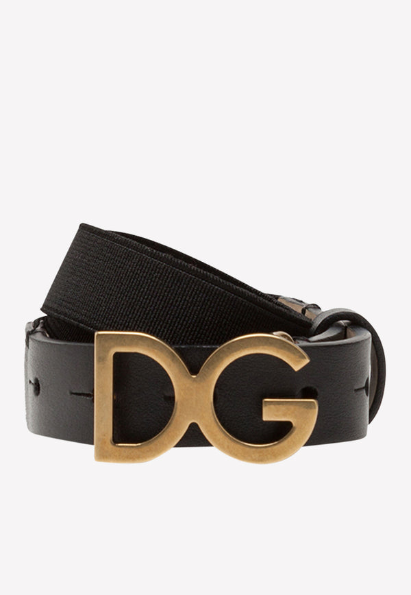 Boys' Stretch Table Belt with DG Buckle