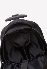 Cordura Nylon Wheelie Bag with Logo Detail