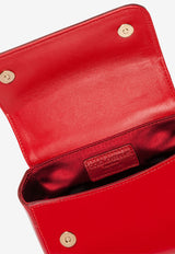 Girls' Patent Leather Top Handle Bag with Logo Plaque