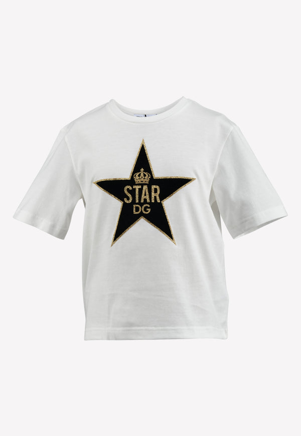 Girls DG Star Print T-shirt