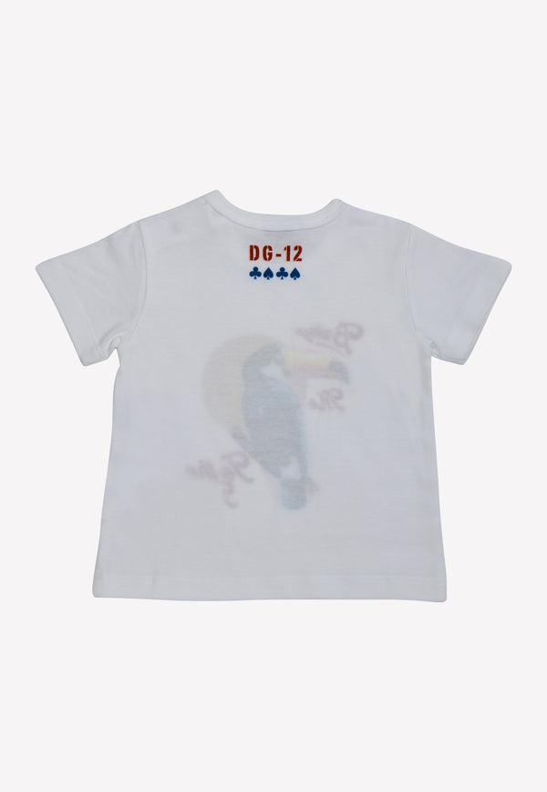 Infant Boys Toucan Print T-shirt