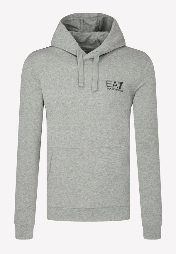 Oversized Logo Cotton Hooded Sweatshirt