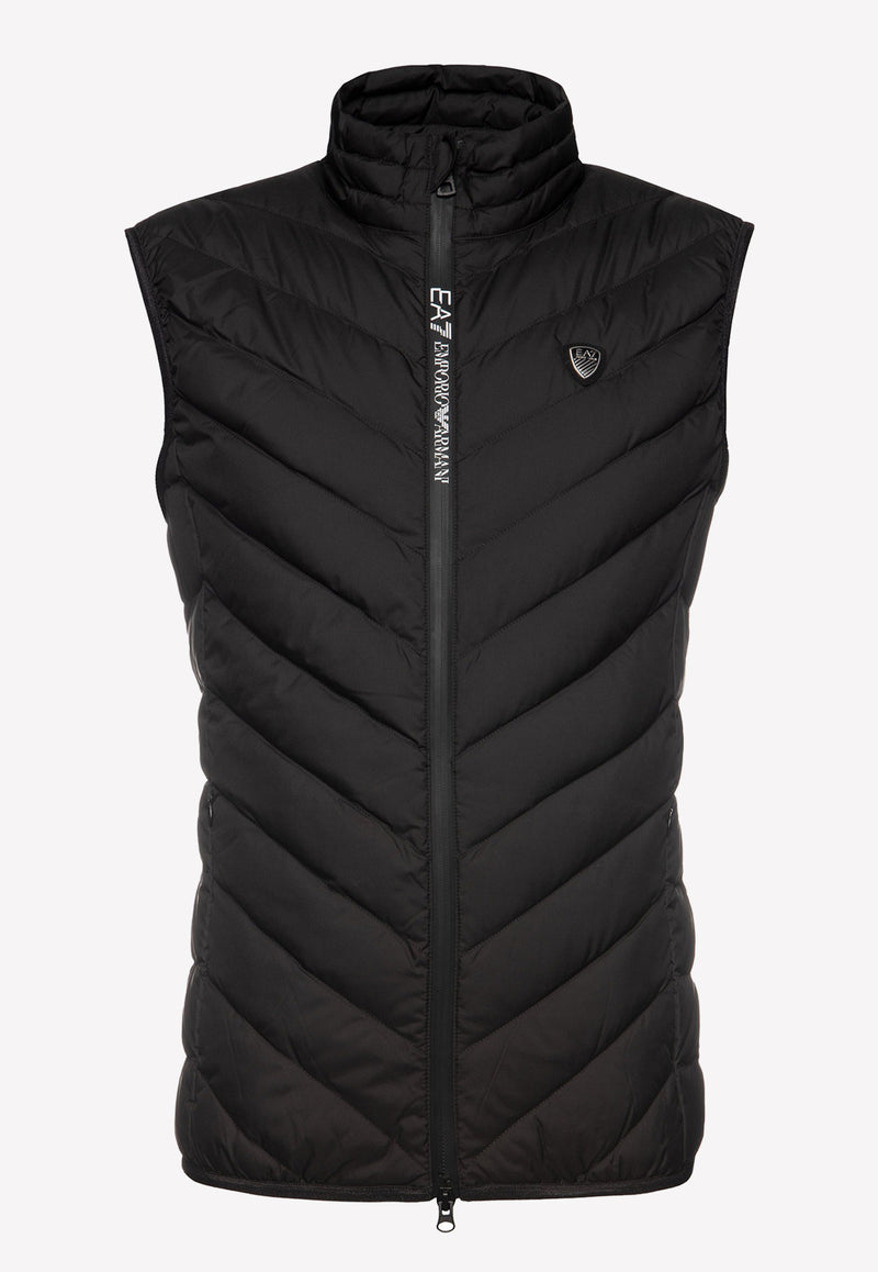 Train Core Quilted Nylon Vest