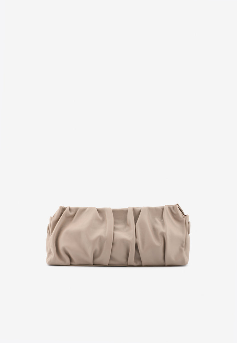 Long Vague Shoulder Bag in Lambskin with Chain