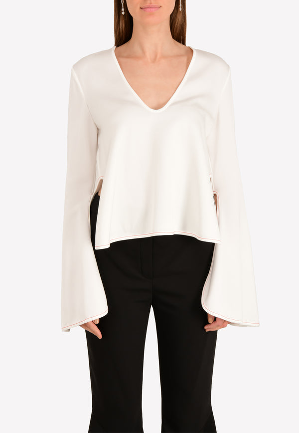 Proteus Flare Sleeve Top