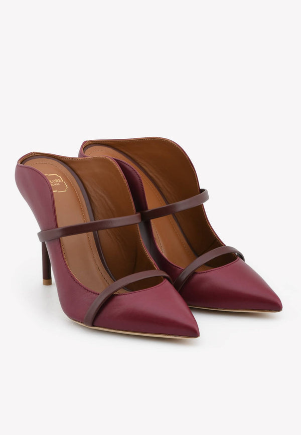 Maureen 100 Mules in Nappa Leather-H