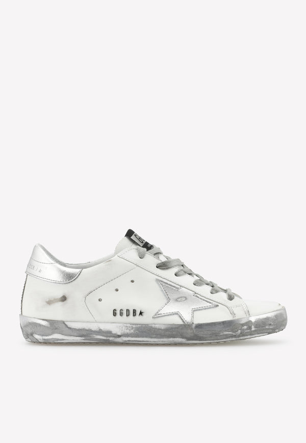 Superstar Calfskin Sneakers with Laminated Star