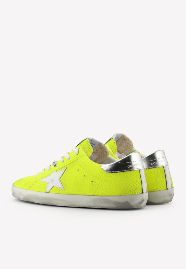 Superstar Classic Lizard Print Sneakers