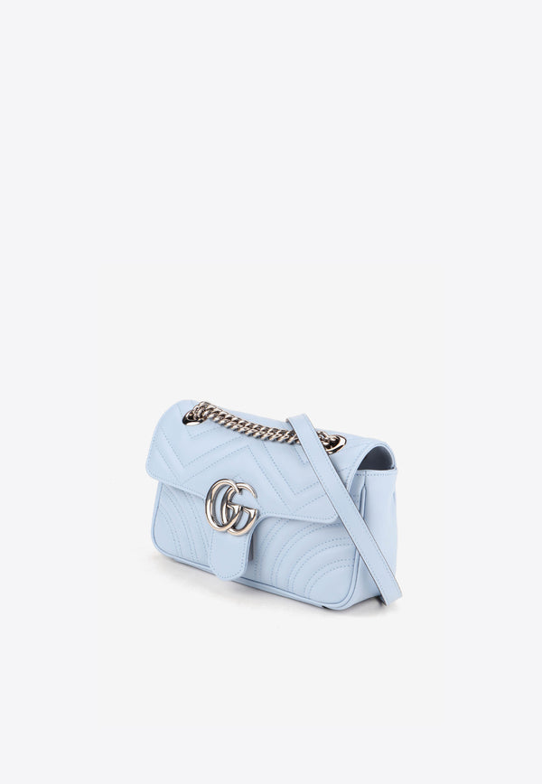Mini Marmont Bag in Quilted Leather