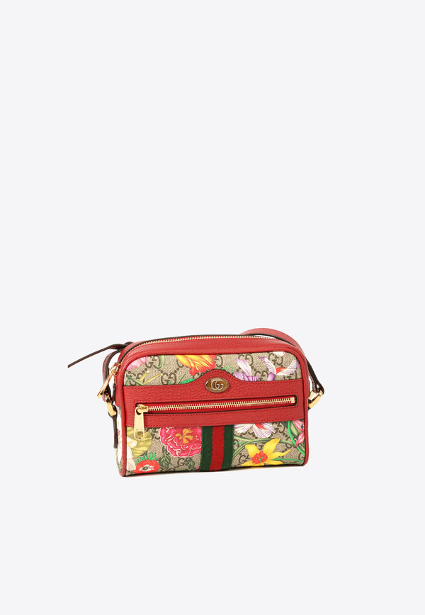 Mini Ophidia Bag with Floral Print