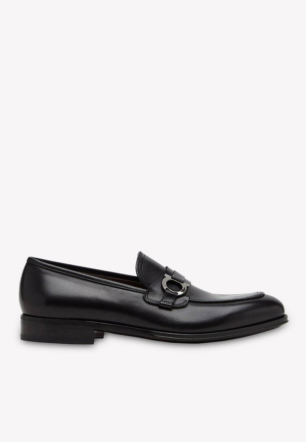 Perth Gancini Loafers in Calfskin