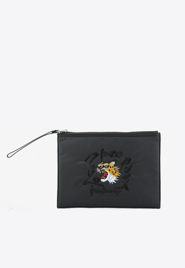 Kansaiyamamoto Collaboration Clutch Bag