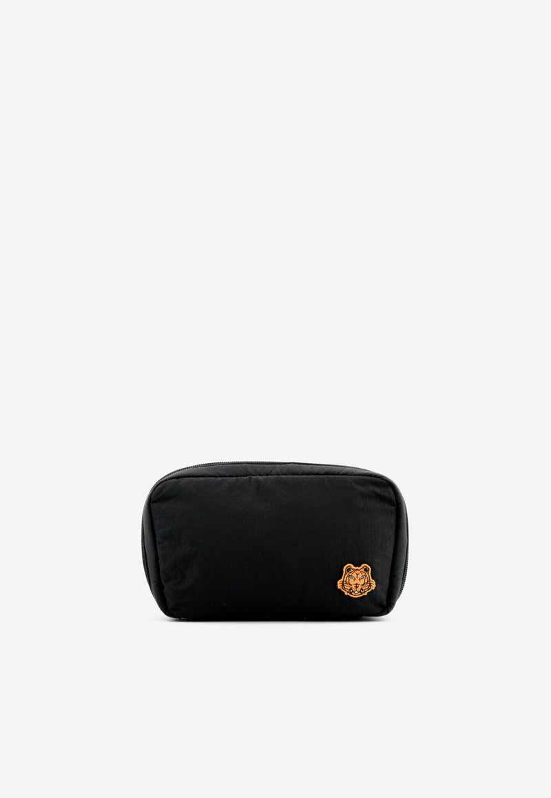 Tiger Crest Nylon Messenger Bag