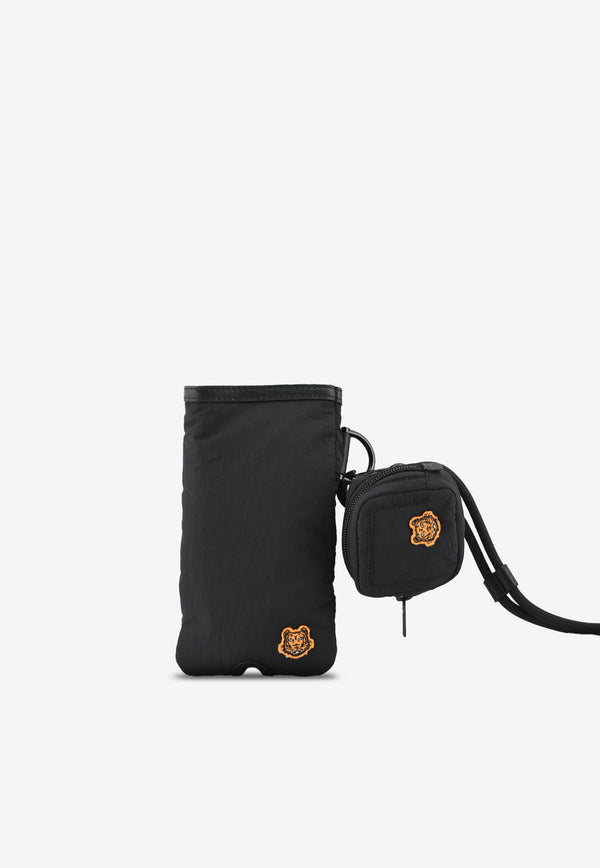 Tiger Crest Nylon Phone Holder