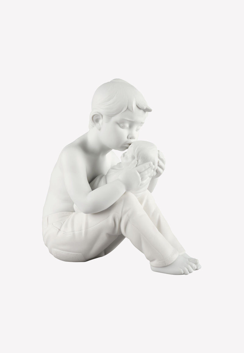 Welcome Home Children Porcelain Figurine