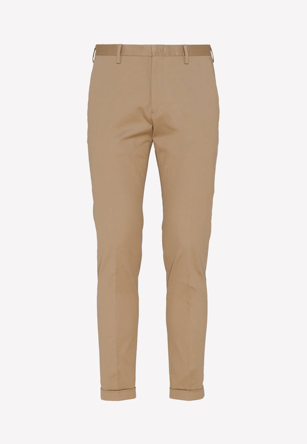 Paul Smith Cotton Pants -  Taupe