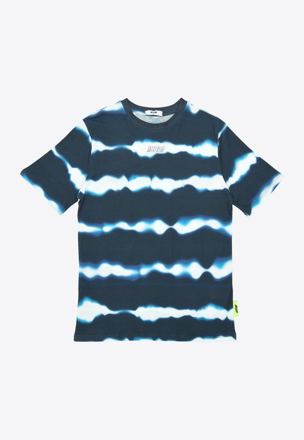 Boys Tie-Dyed Cotton Jersey T-Shirt
