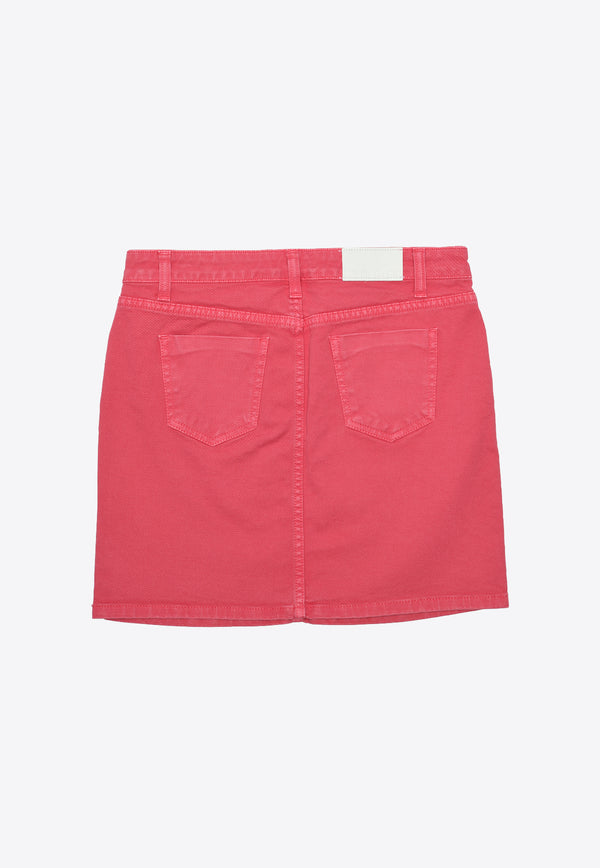Girls Gonna Cotton Denim Skirt