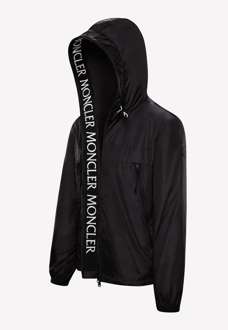 Massereau Nylon Jacket with Hood