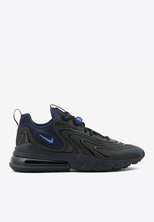 Air Max 270 React Eng Sneakers- أسود / الياقوت / Obsidian