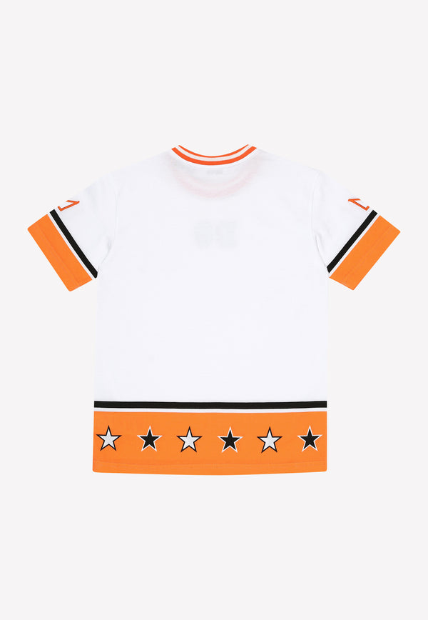 Boys Varsity Style Cotton T-shirt