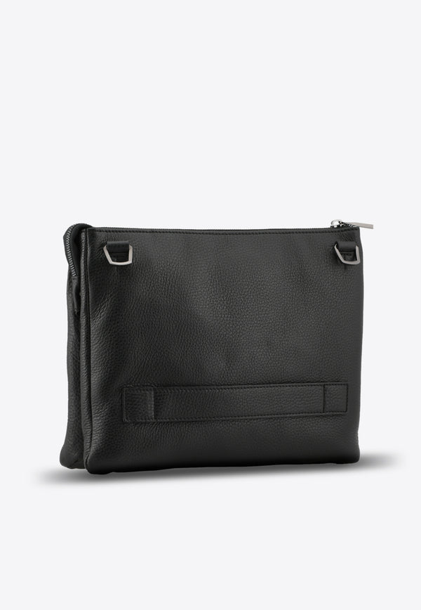 Travel Pouch in Grained Calfskin