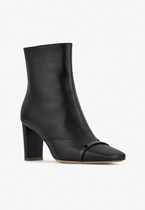 Lori 70 Ankle Boots in Calf Leather-E