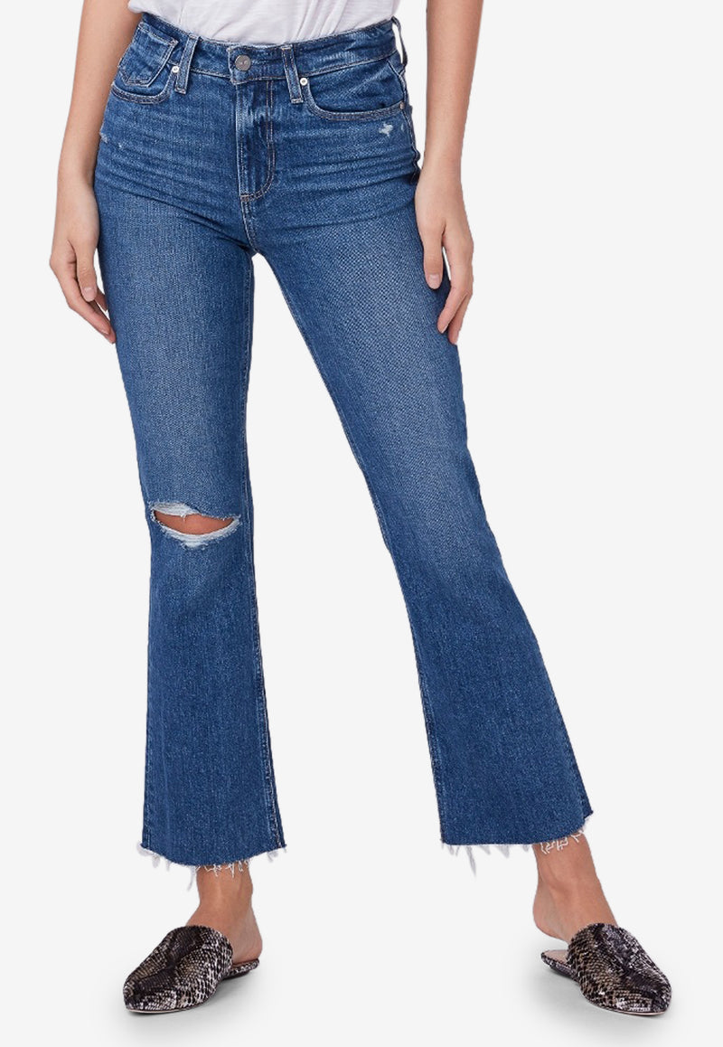 Vintage Collete Cropped Flared Jeans