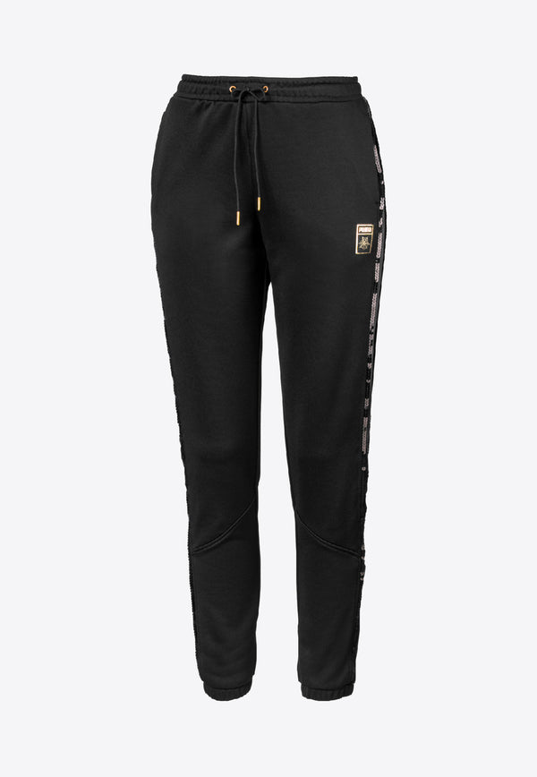 PUMA x Charlotte Olympia Track Pants in Cotton Blend
