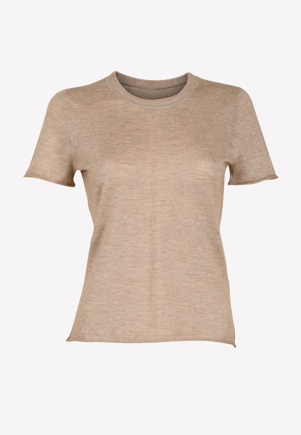 Madee Cashmere Short Sleeve Sweater
