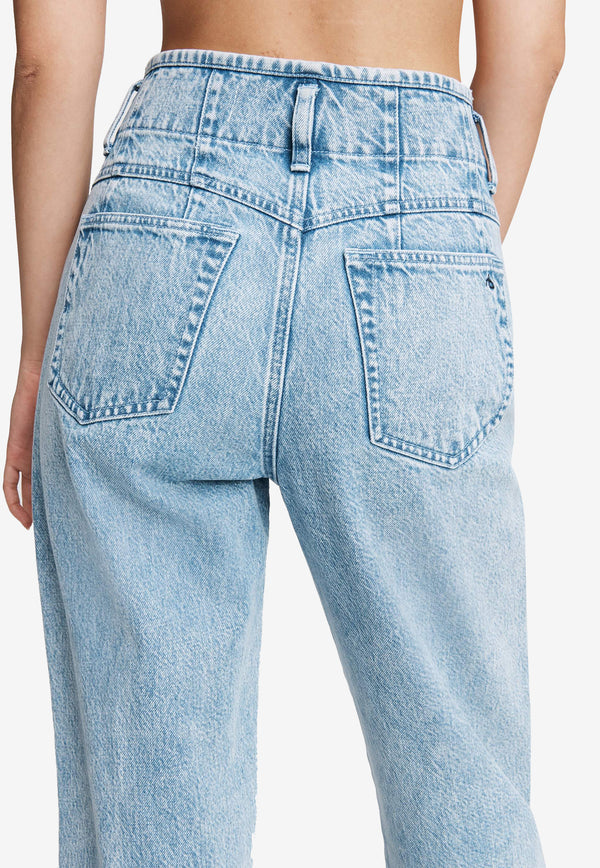 Darted 90's Cotton Jeans
