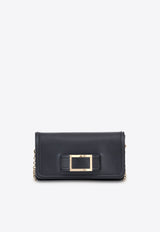 Keep It Viv Leather Clutch