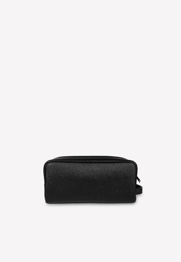 Grain de Poudre Leather Washbag