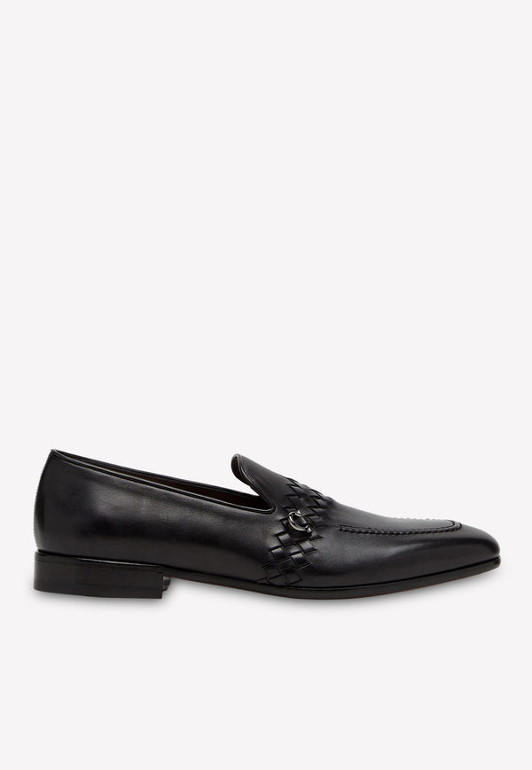 Passion Gancini Loafers in Calfskin