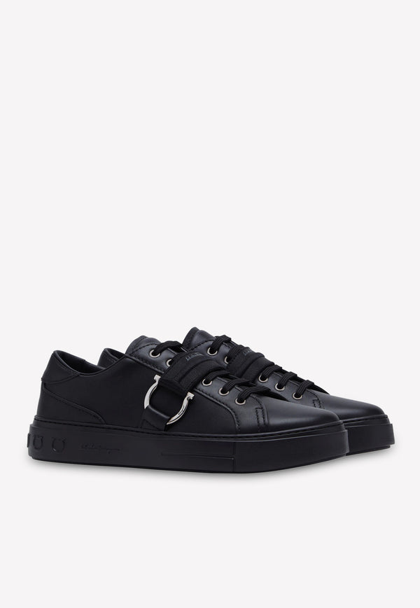 Pharrel Gancini Sneakers in Calfskin