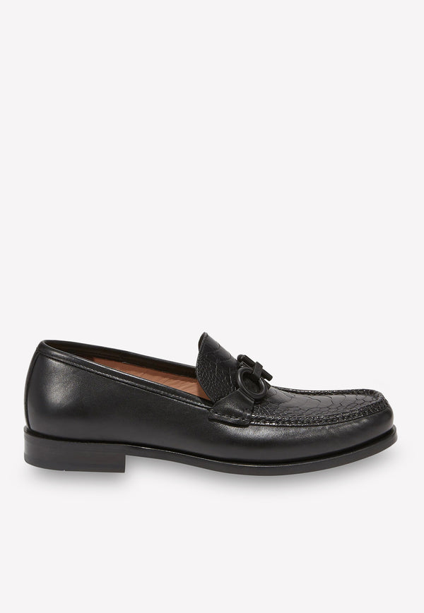 Gancini Loafers in Calfskin