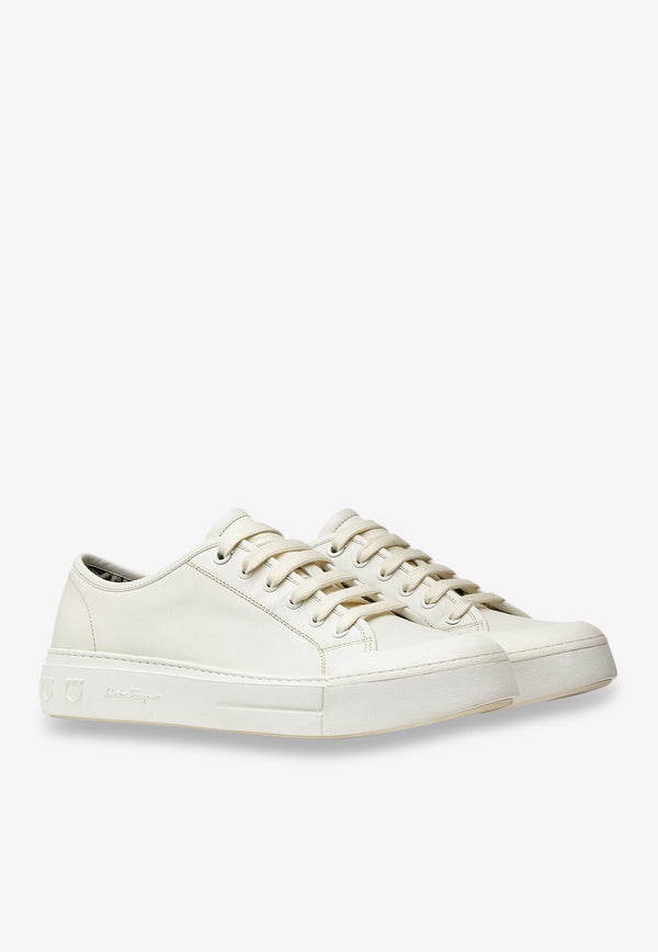 Rebel Calf Leather Sneakers
