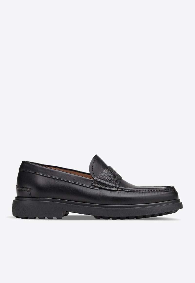 Rocket Gancini Loafers in Calfskin