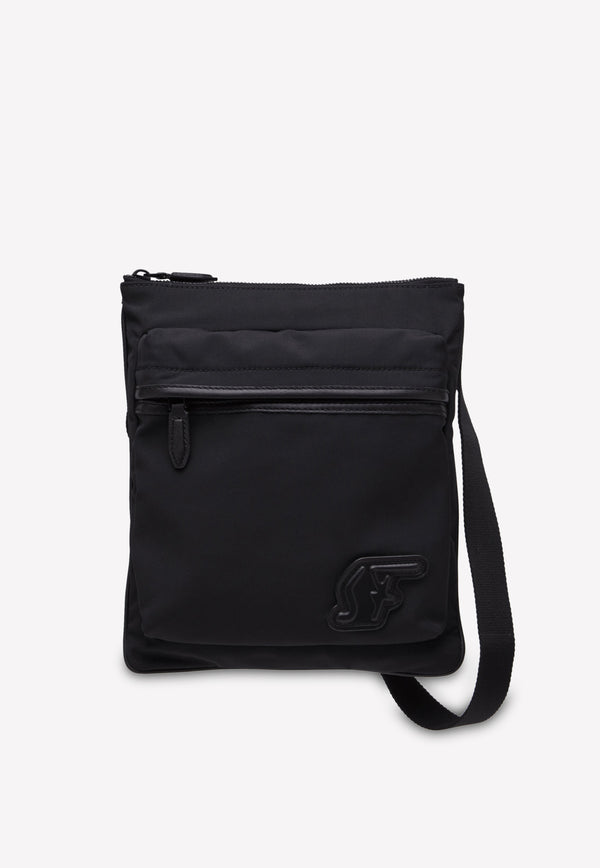 SF Crossbody in Econyl and Leather