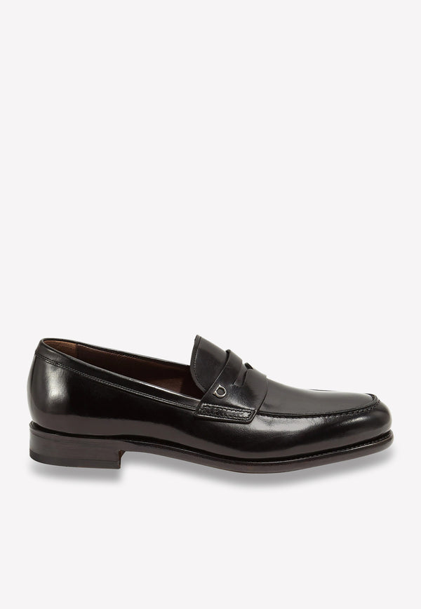 Theodore Penny Loafers in Calf Leather