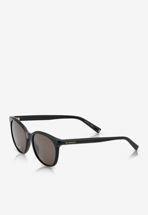 Givenchy Round Frame Sunglasses 716736390871BLACK 2