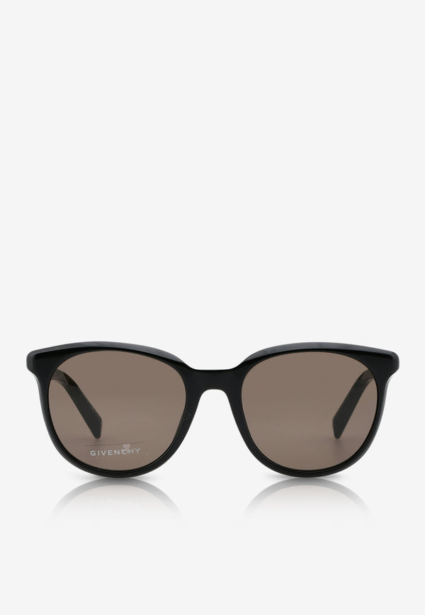Givenchy Round Frame Sunglasses 716736390871BLACK 1