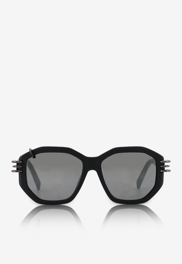 Givenchy Gradient Lens Geometric Sunglasses 716736328492BLACK 1