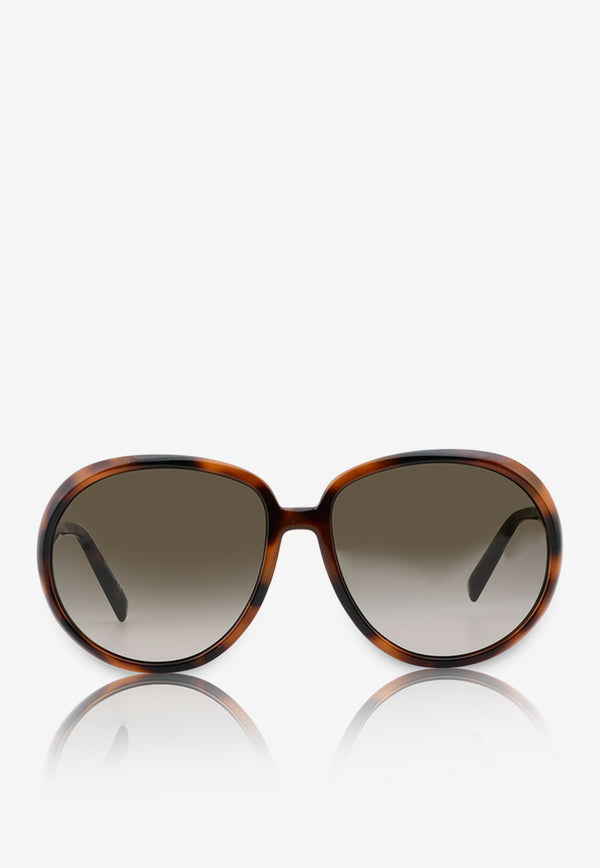 Givenchy Havana Butterfly Frame Sunglasses 716736328416BROWN MULTI 1