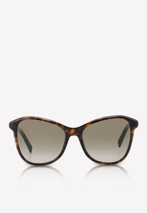 Givenchy Butterfly Frame Sunglasses 716736390895BROWN MULTI 1