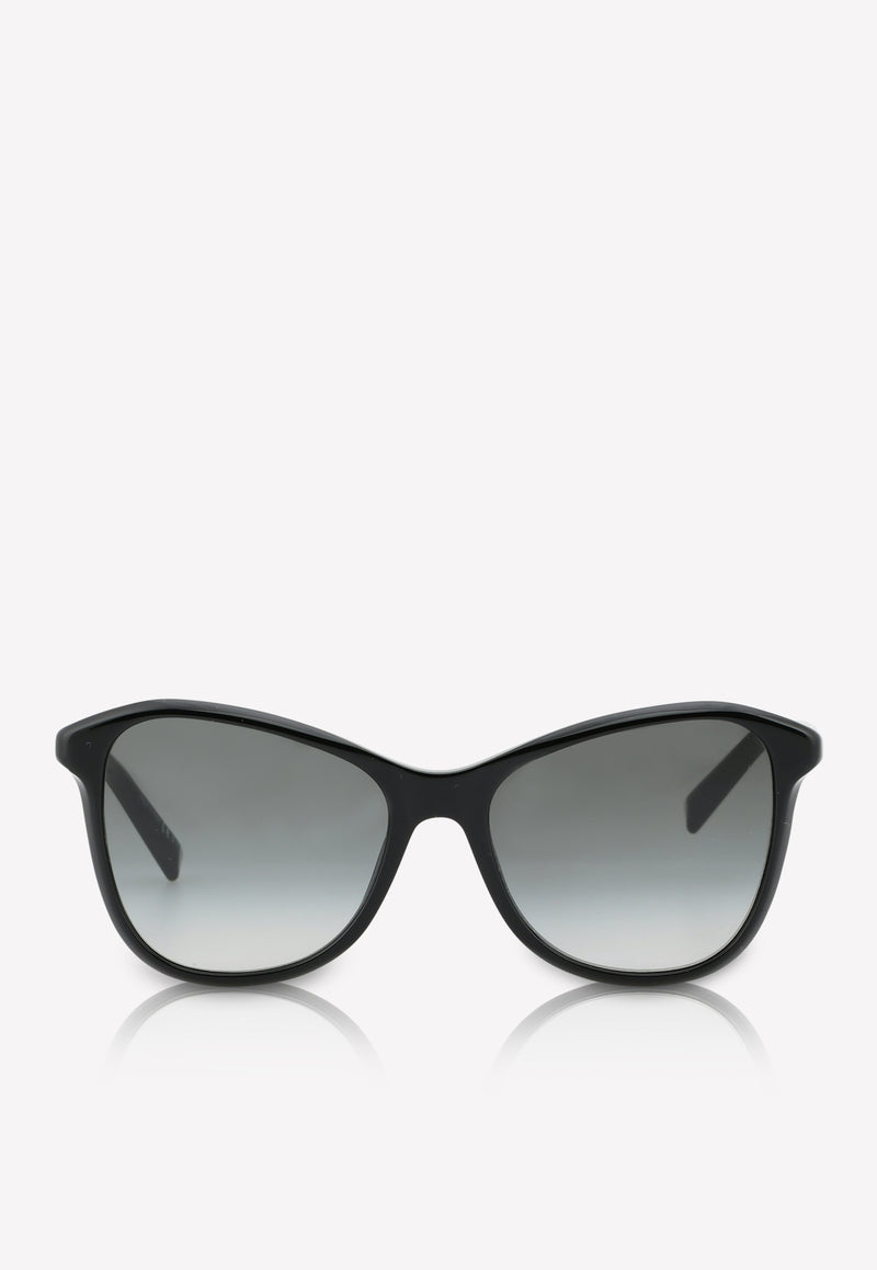 Givenchy Butterfly Frame Sunglasses 716736390901BLACK 1