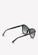 Givenchy Butterfly Frame Sunglasses 716736390901BLACK 3