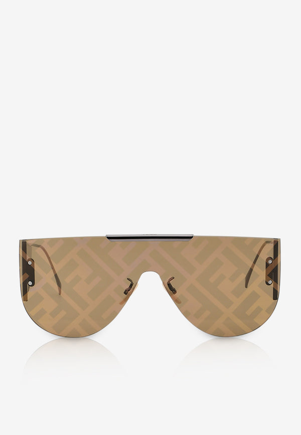 Fendi Fabulous 2.0 Panorama Sunglasses 716736333601BROWN 2